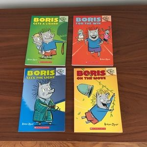 Boris - Set of 4 Books